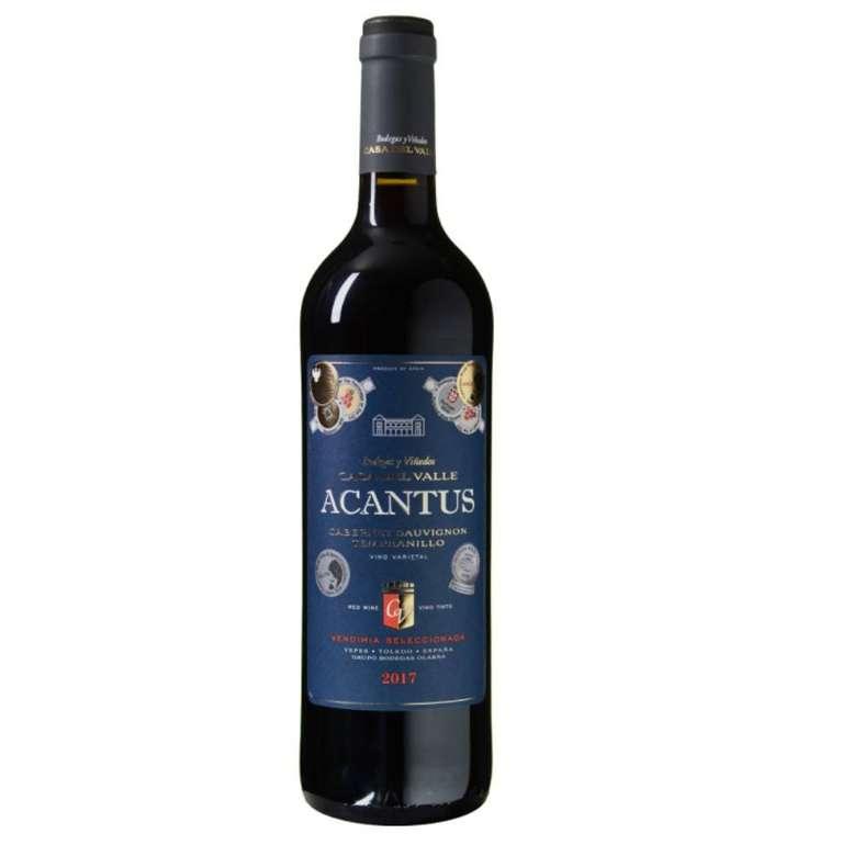12 Flaschen Bodegas y Viñedos Casa del Valle - Acantus (2017) für 39,99€