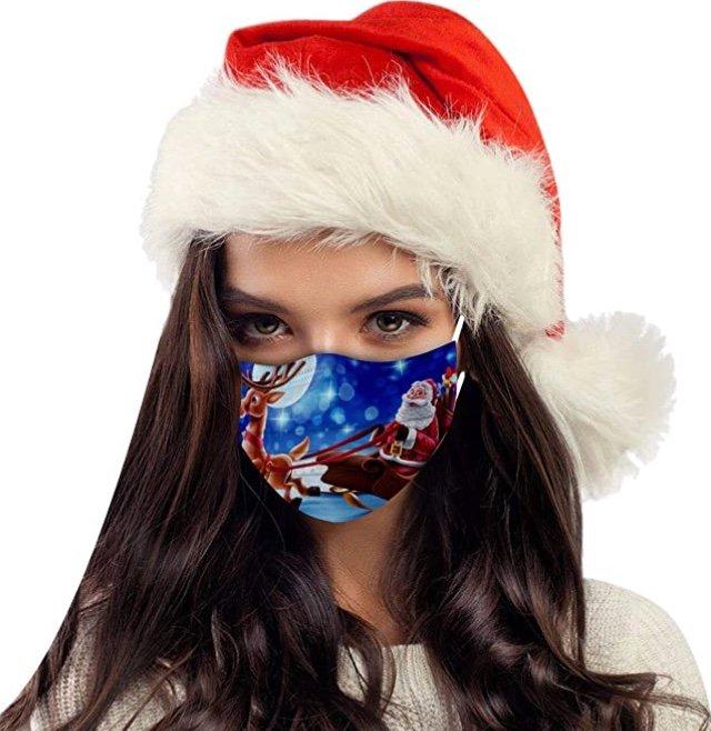10er Pack Feitong 3Ply Weihnachts Face Bandanas (Mund-Nasen-Schutz) für 3€ inkl. Versand (statt 10€)