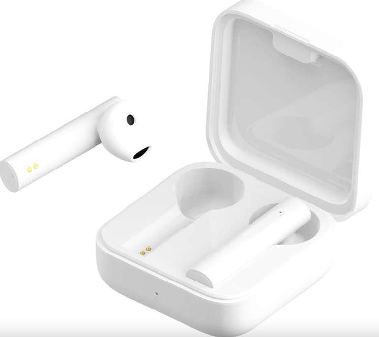 Xiaomi Mi True 2 Basic Wireless Kopfhörer mit Ladebox (20h Akkulaufzeit, Touch Control) für 25,99€ (statt 30€)