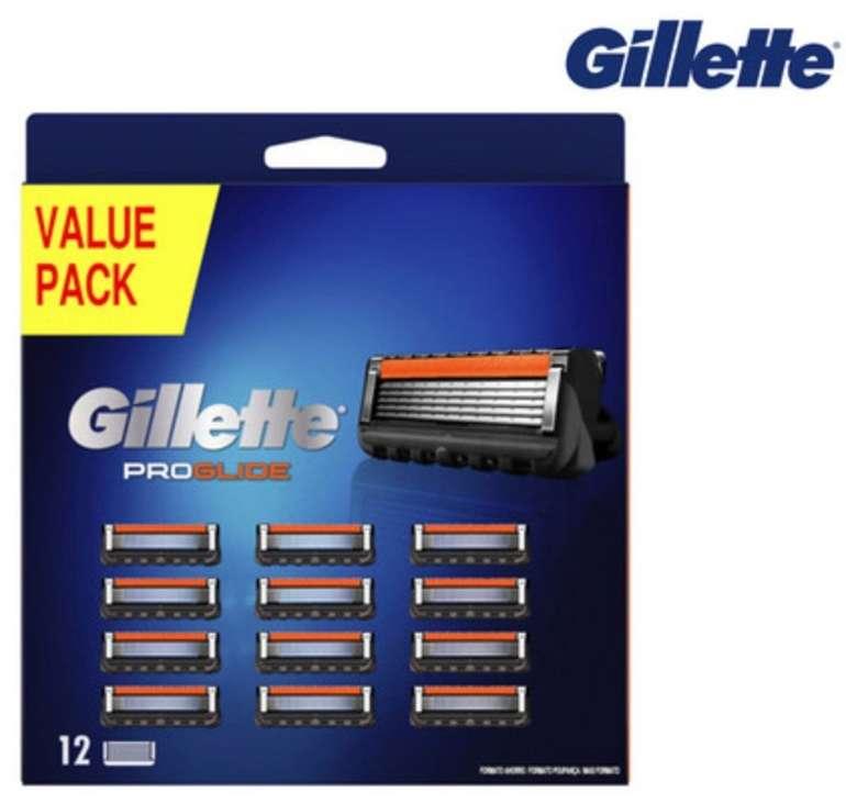 12er Pack Gillette Fusion 5 ProGlide Rasierklingen für 30,90€ inkl. Versand (statt 39€)