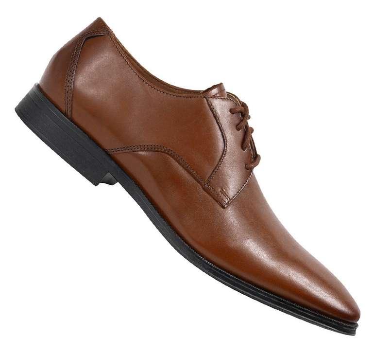 """Clarks """"Gilman Lace"""" Herren Leder Schuhe für 33,94€ (statt 43€) - kosmetische Mängel!"""