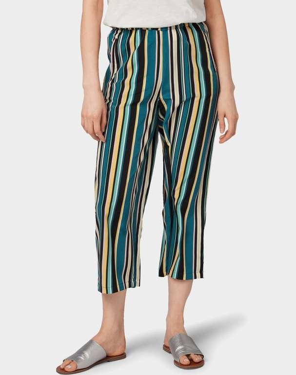 Tom Tailor Damen Hose 'easy culotte' für 11,61€ inkl. Versand (statt 16€)