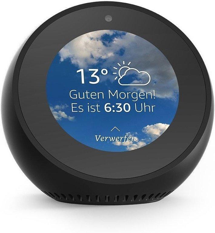 Amazon Echo Spot Lautsprecher mit Bildschirm für 99,98€ (statt 129€)