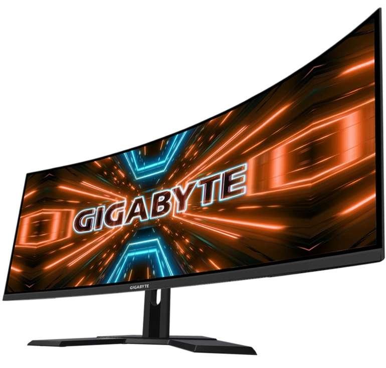 """Gigabyte G34WQC - 34"""" Monitor (3440x1440, HDR400, 144 Hz, 1ms, 120% sRGB, FreeSync, VESA) für 389,99€"""