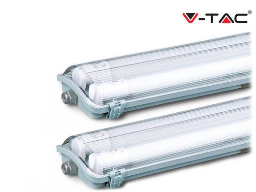 2x V-Tac TL-Leuchte mit LED-Röhren (120 cm) für 35,90€ inkl. Versand (statt 50€)