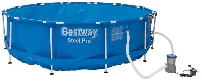 Bestway Metal Frame Pool ca. 366 x 84 cm für 84,94€ inkl. Versand (statt 115€)