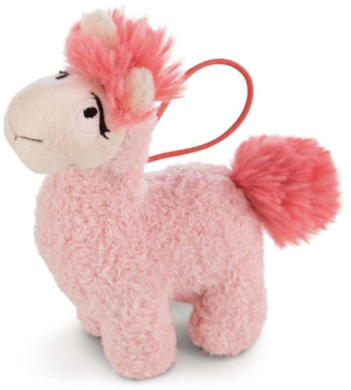 Nici Kuscheltier Lama Rosy pink (11 cm) für 3,09€ inkl. Versand (statt 12€) - Thalia Club!
