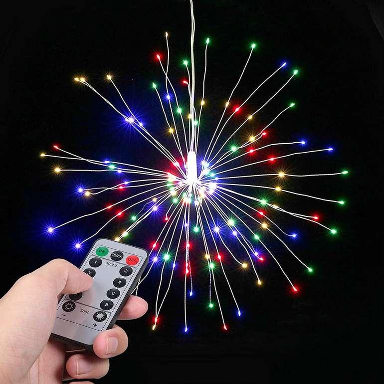 """Lixada LED Licht """"Feuerwerk"""" mit Fernbedienung für 9,99€ inkl. Versand (statt 20€)"""