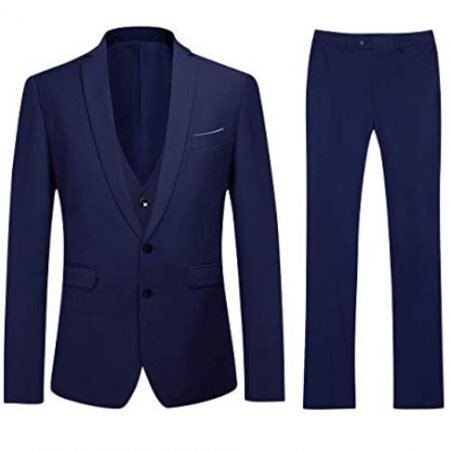Youthup 3-tlg. Herren Anzug (verschiedene Farben) für je 51,99€