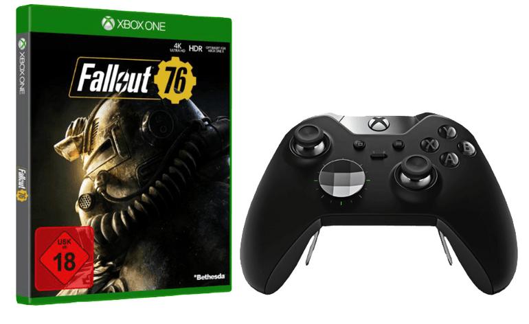 Microsoft Xbox One Elite Wireless Controller +Fallout 76 für 119€ (statt 160€)