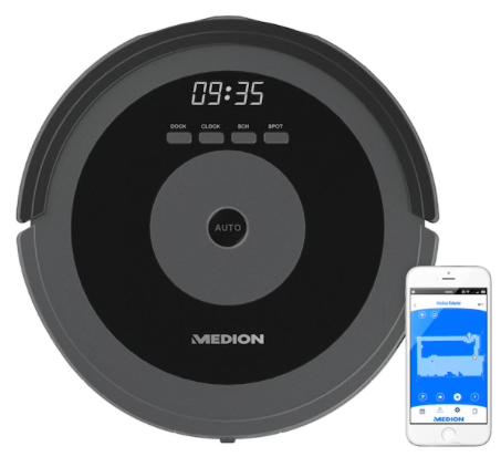 Medion MD 17225 - Saugroboter mit intelligenter Lasernavigation für 299,95€