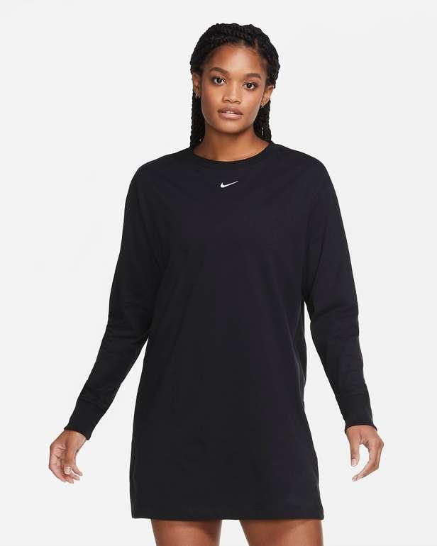 Nike Sportswear Essential Kleid in Schwarz für 26,97€ inkl. Versand (statt 39€) - Nike Member