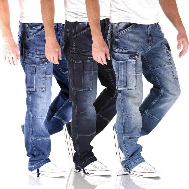 Big Seven Brian - Cargo Herren Jeans (Comfort Fit) für 39,90€ inkl. Versand (statt 54€)