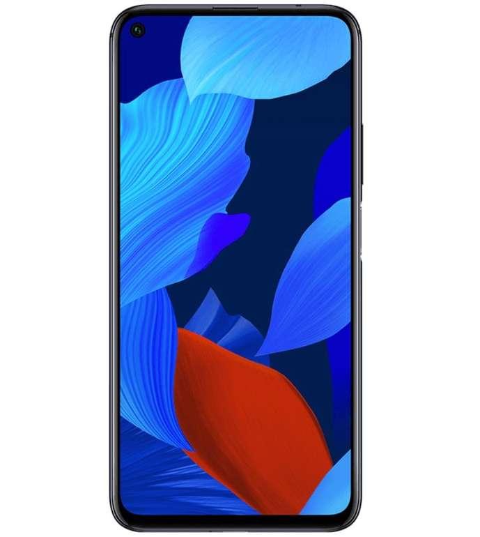 Huawei Nova 5T Dual SIM Smartphone (1€) + o2 Super Select S Allnet Flat mit 4GB LTE für 14,99€ mtl.