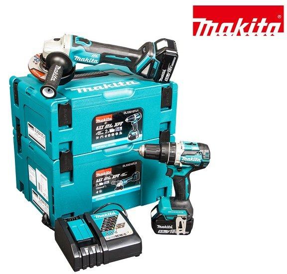 Makita 18V LXT Kombi-Set: Schlagbohrschrauber + Winkelschleifer 408,90€ (statt: 567€)