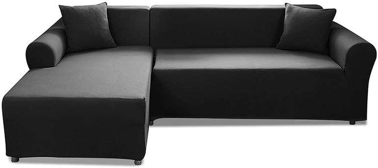 Elastische Caveen Sofa Überwürfe (2x Sofabezug + 2x Kissenbezug) für 39,89€ inkl. Versand (statt 57€)