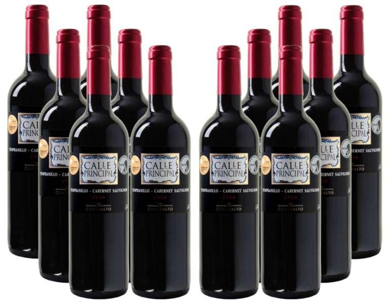 12 Flaschen Calle Principal Sauvignon Rotwein für 39,96€ mit Versand (statt 55€)