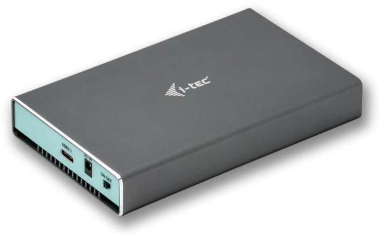 I-Tec MySafe USB 3.0 / USB-C 3.1 Gen. 2 externes Festplatten-Gehäuse für 33,91€ inkl. Versand (statt 41€)