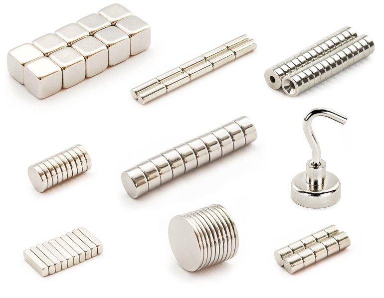 Verschiedene Neodym Magnete ab 1€ inkl. Versand