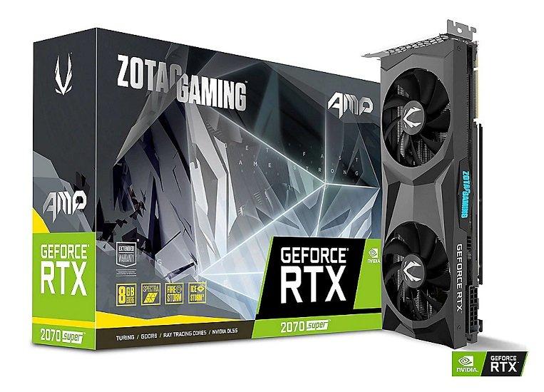 Zotac GeForce RTX 2070 SUPER AMP! 8GB GDDR6 Grafikkarte für 459€ (statt 553€)