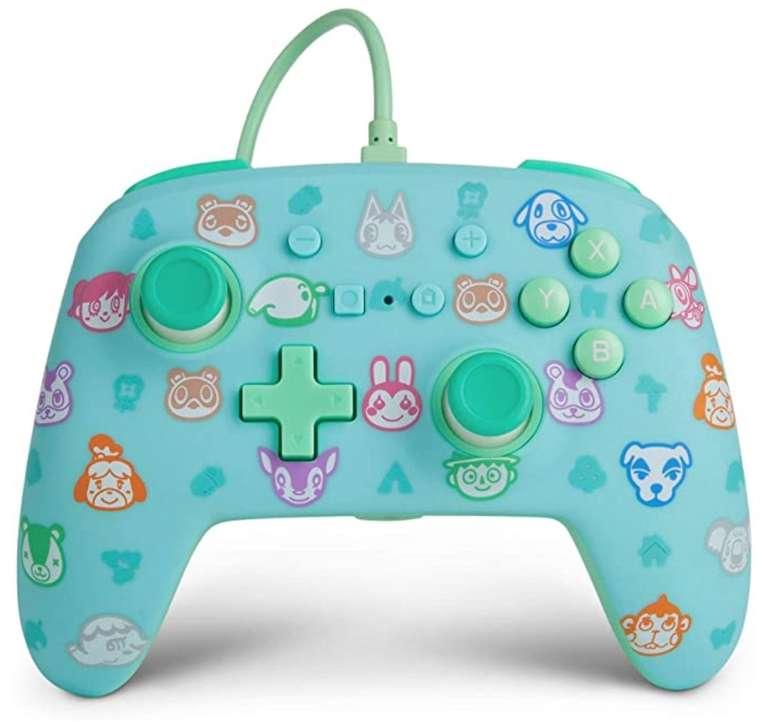 3er Pack PowerA Nintendo Switch Enhanced Wired Controller Animal Crossing für 40,70€ (statt 84€)