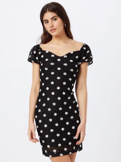 """Guess Kleid """"Rosita"""" in Schwarz / Weiß für 67,43€ inkl. Versand (statt 78€)"""