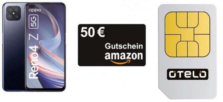 Oppo Reno4 Z 5G Otelo Vodafone Allnet-Flat Go 5GB LTE