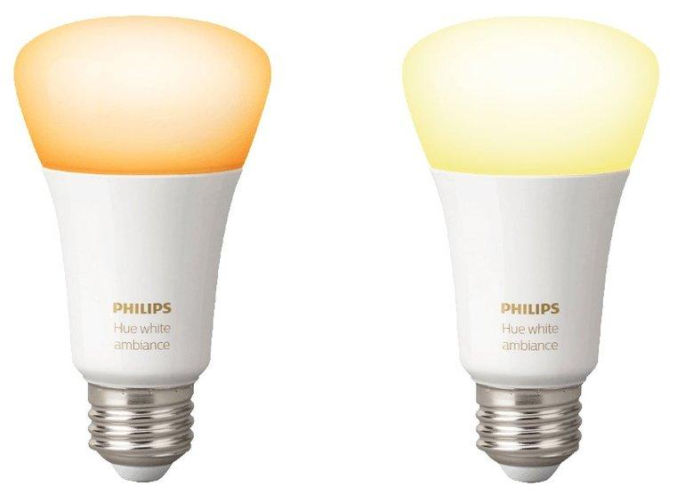 4er Pack Philips Hue White Ambiance E27 LED Leuchtmittel für 64,97€ inkl. VSK