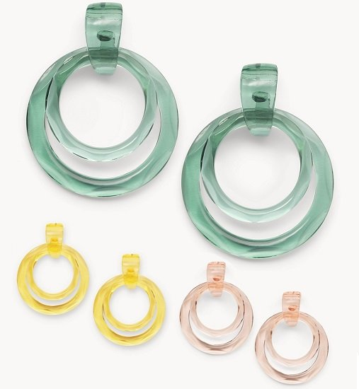 Fossil Jelly Pops Damen Ohrringe für je nur 18€ (statt 35€)