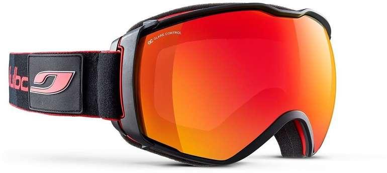 Julbo Ski- / Snowboardbrille Airflux Schönwetter schwarz/rot für 57,59€ (statt 74€)