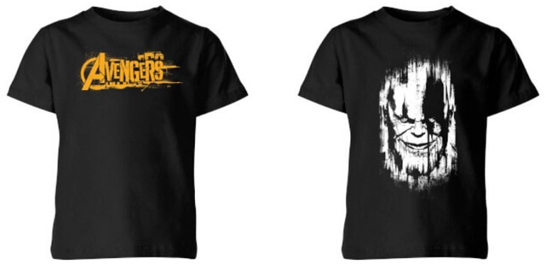 Zavvi 2 Kinder T-Shirts