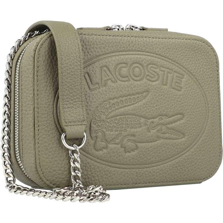 Lacoste Croco Crew Umhängetasche Leder für 77,95€ inkl. Versand (statt 144€)