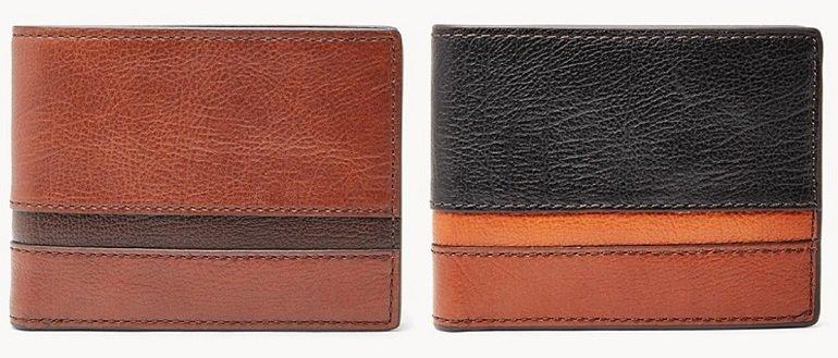 Fossil Easton Herren Geldbörse mit RFID-Schutz