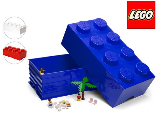 Lego Aufbewahrungsstein, 8 Noppen, 12L für 24,90€ inkl. Versand (statt 30€)