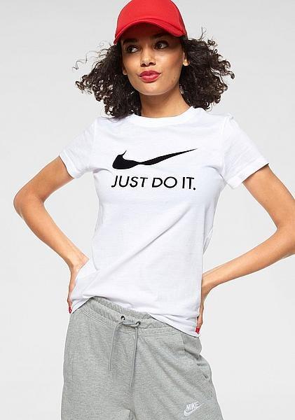 Nike Damen JDI Slim Crew T-Shirt in 2 Farben für je 12,99€ inkl. VSK
