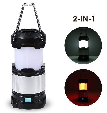 TryLight - 2in1 tragbare LED Campinglampe für 9,90€ (statt 19,99€)