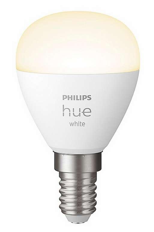 Philips Hue White E14 Luster Tropfen im Einzelpack für 14,89€ inkl. Versand (statt 19€)