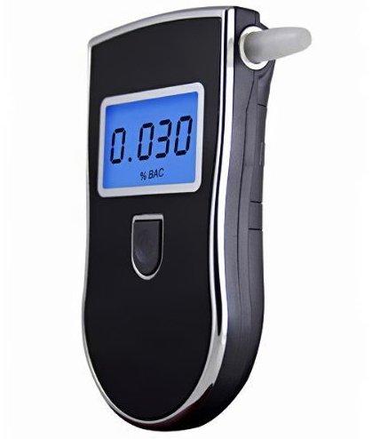TopElek Alkoholtester mit LCD Anzeige + 5 Mundstücke ab 11,25€ (statt 15€)