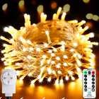 Ollny - 20 Meter LED Lichterkette mit Fernbedienung & Timer für 9,49€ mit Primeversand (statt 16€)