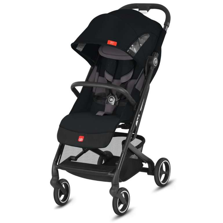gb Gold Buggy Qbit+ All City in Velvet Black für 174,94€ inkl. Versand (statt 195€)