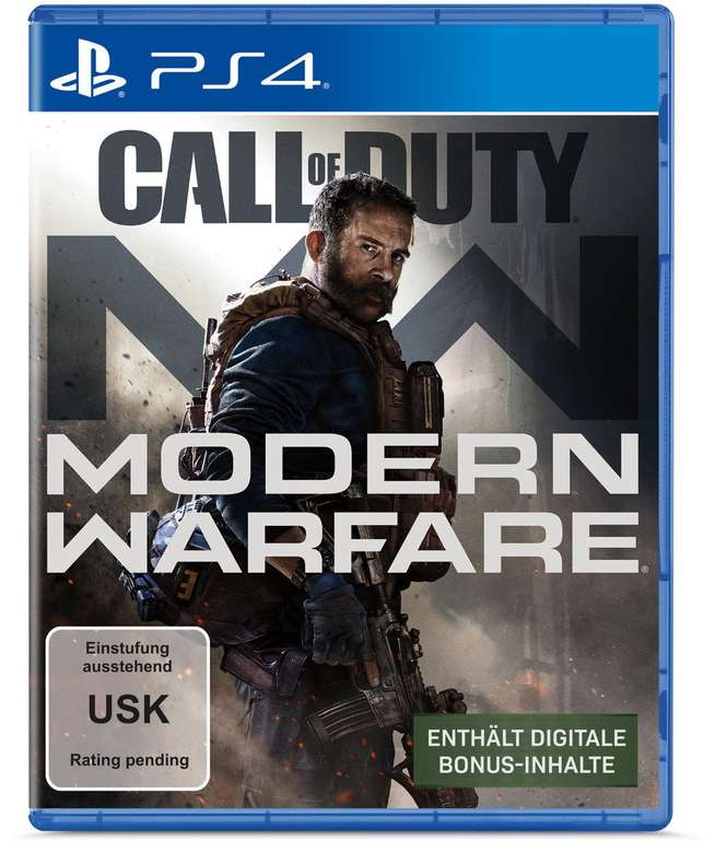 CoD Call of Duty: Modern Warfare (PS4) für 56,99€ inkl. VSK (statt 64€)