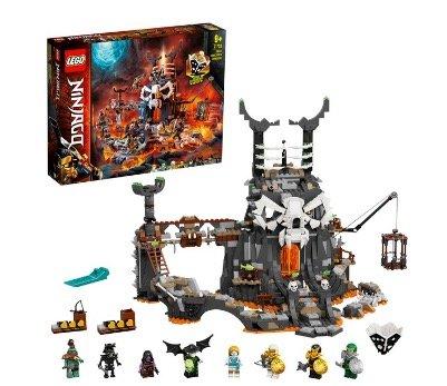 Lego 71722 Ninjago Verlies des Totenkopfmagiers für 67,90€ (statt 76€)