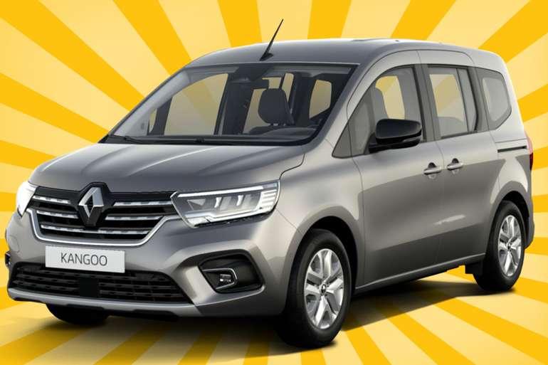 Gewerbe: Renault Kangoo mit 130 PS für 55€ mtl. (LF: 0.24, Überführung: 599€)