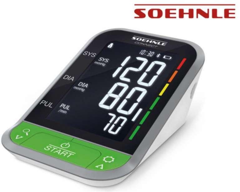 Soehnle Systo Monitor Connect 400 - Oberarm-Blutdruckmessgerät mit Bluetooth für 40,90€ (statt 56€)
