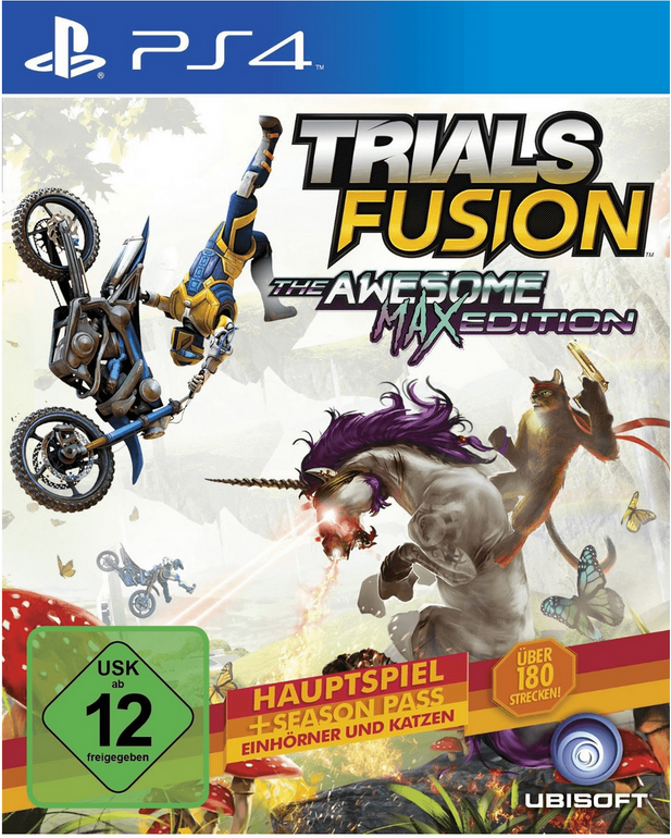 Trials Fusion: The Awesome Max Edition für 9,99€ XBOX One / 14,99€ PS4