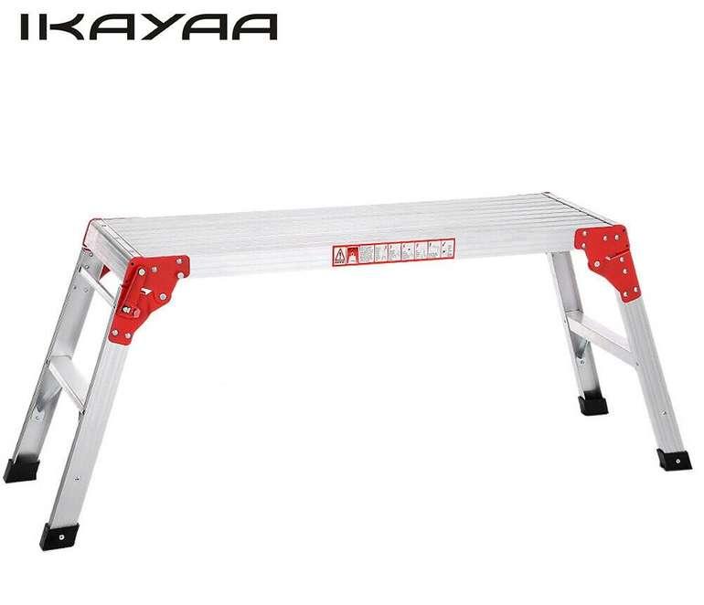 Ikayaa klappbare Arbeitsplattform mit Anti-Rutsch Füßen (max. 102 kg) für 37,79€ inkl. Versand (statt 42€)