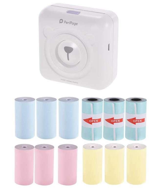 Aibecy PeriPage Mini Fotodrucker fürs Mobiltelefon zu 37,39€ inkl. Versand (statt 44€)
