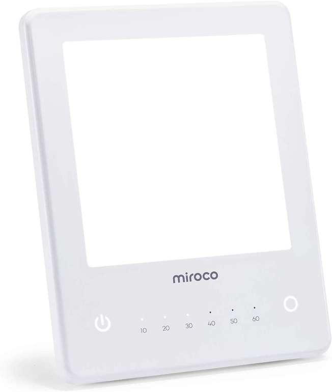 Miroco LED Tageslichtlampe mit 10000 Lux für 22,49€ inkl. Prime VSK (statt 30€)