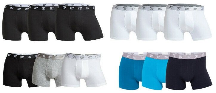 3er Pack CR7 Basic Underwear Boxershorts