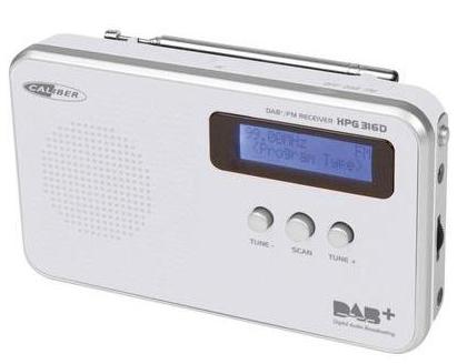 Caliber HPG316D DAB+ Kofferradio für 24,99€ inkl. Versand (statt 35€)